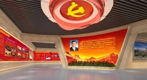 天津高新区党群活动服务中心展厅